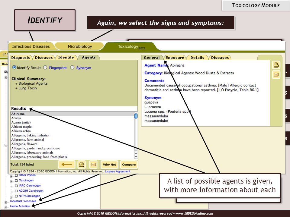 And, we input information such as: Then, press the Identify button to see results.