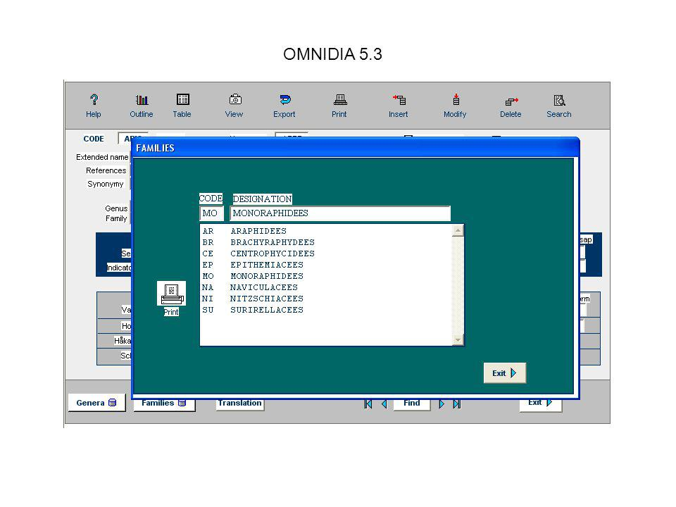 OMNIDIA 5.3 You can display indices original values instead of converted /20