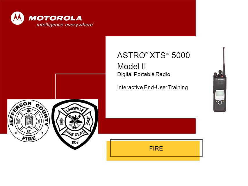 ASTRO ® XTS 5000 Model II 11 Public Safety Speaker/Microphone (PSSM) – 3 of 3 To remove the PSSM: 1.Turn the radio off.