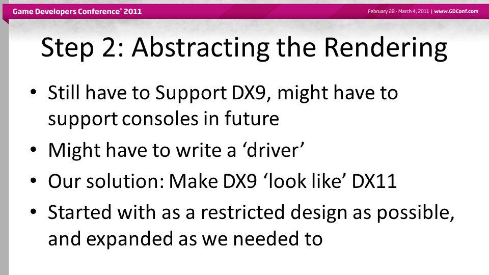 D3D11 Features: Tessellation Major addition to D3D11 API [Screenshot]