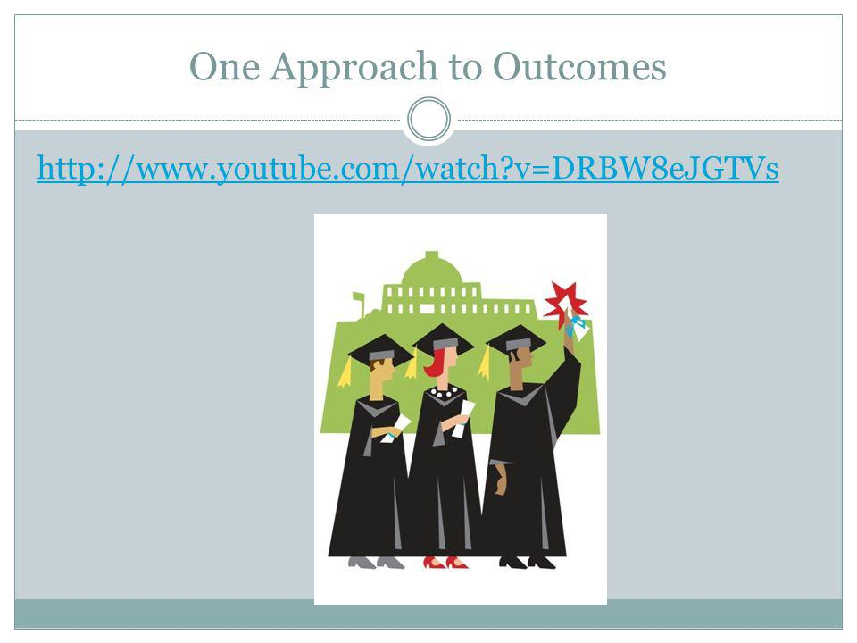 One Approach to Outcomes   v=DRBW8eJGTVs