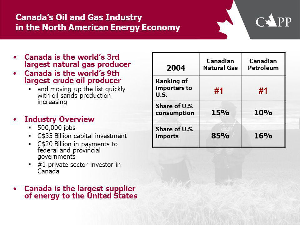 Top 10 Natural Gas Producers in 2004 Source: Oil & Gas Journal