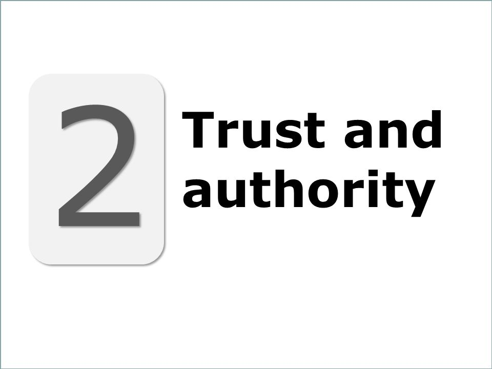 21 2 2 Trust and authority