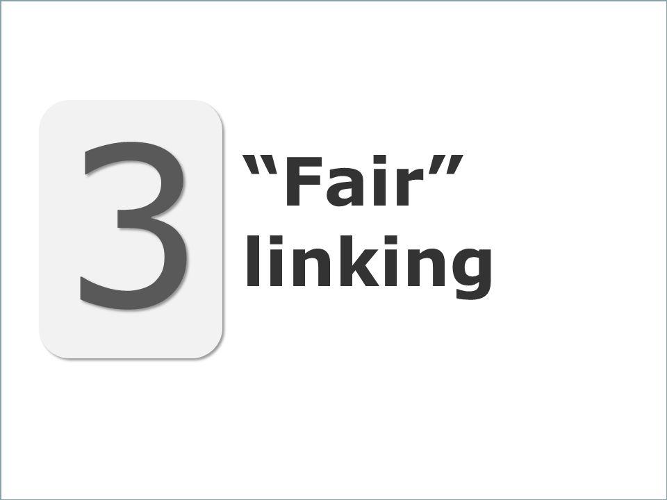 33 3 3 Fair linking