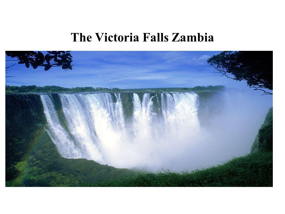 The Victoria Falls Zambia