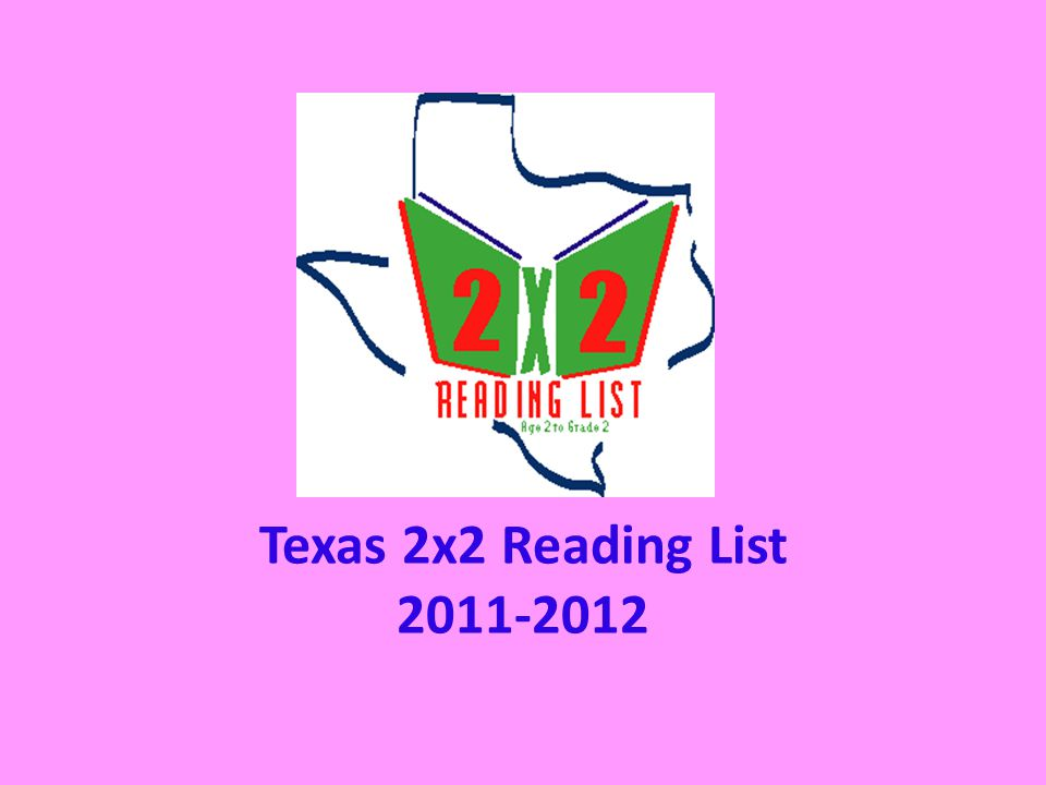 Texas 2x2 Reading List