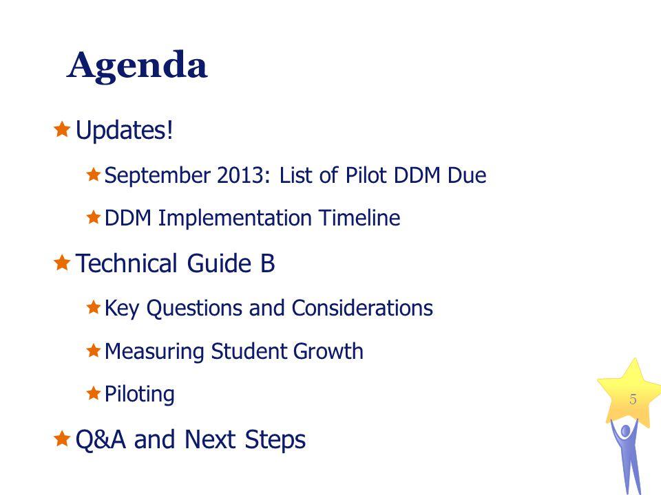 Agenda Updates.