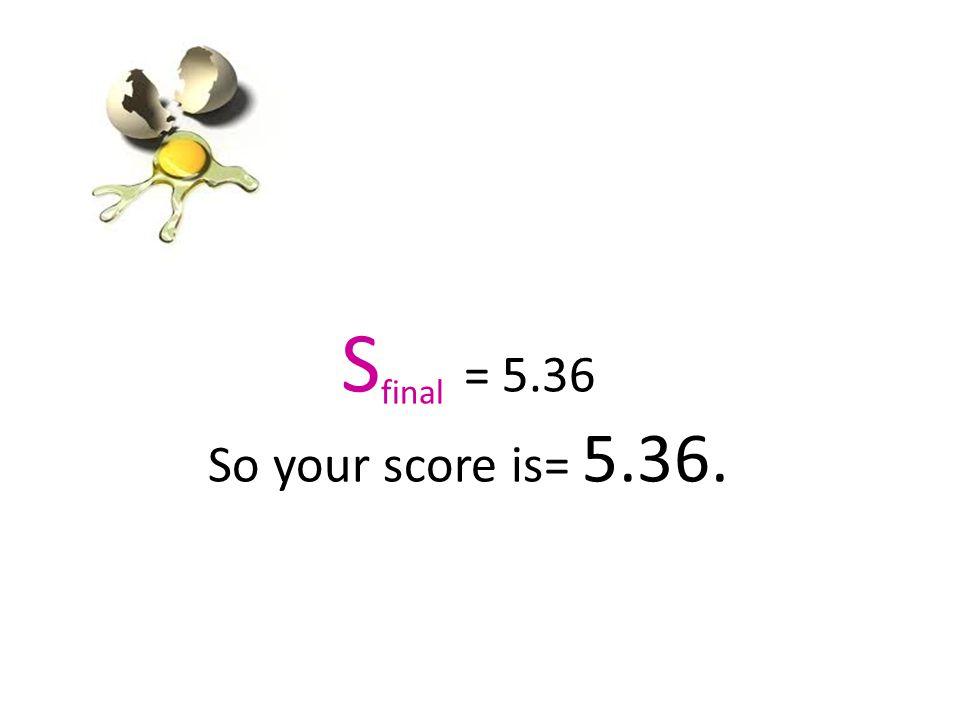Homework ~ Egg Drop Scoring Practice Problems 1.Team HD had the following measurements.