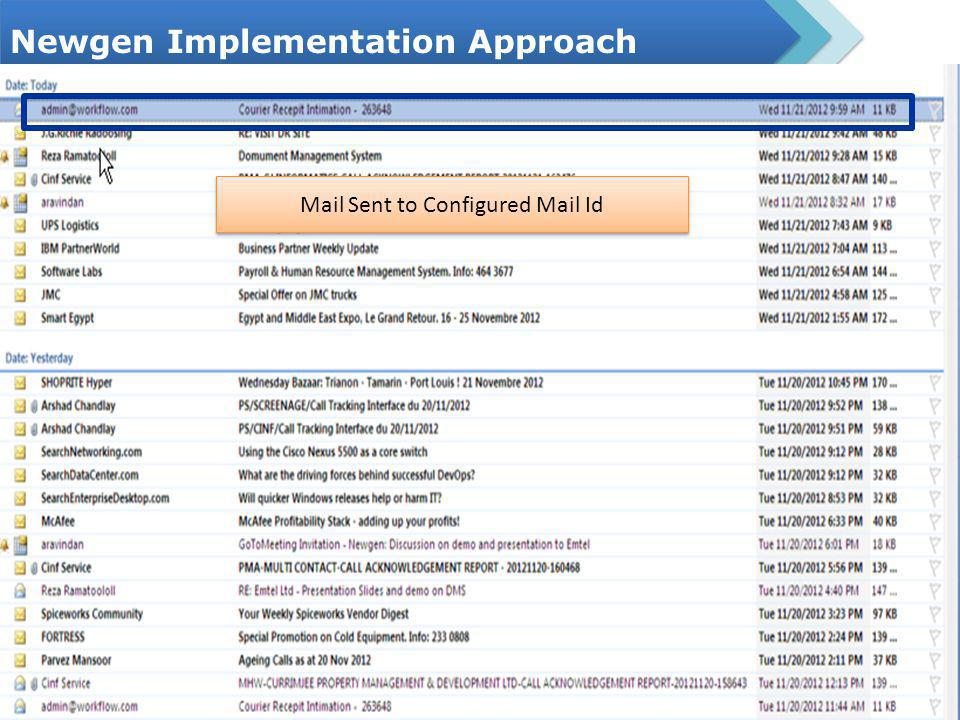 Newgen Document Management OmniDocs Features 6 Document Archival Step – Document are stored in Newgen Enterprise Document Management System OmniDocs Folder Hierarchy EMTEL SERIAL NUMBER DOCUMENTS Folder Hierarchy Documents are stored in Document Management System Newgen Document Viewer Annotations operated on Document Details of Document which includes dataclass details Notes Sections for adding some important note with the document Document Checked Operations for Document PROPERTIES OF THE DOCUMENT INCLUDING DATACLASS DETAILS MOVING DOCUMENTS TO ONE FOLDER TO ANOTHER FOLDER CHECKING THE DOCUMENT AFTER DOING OPERATIONS ON IT VERSIONING OF ELECTRONIC DOCUMENTS SHARING OF THE DOCUMENT DOWNLOADING THE DOCUMENT FROM OMNIDOCS PRINTING & LINKING OF THE DOCUMENT MAKING DUPLICATE COPY & AUDIT LOG OF THE DOC ALARMS & REMINDERS