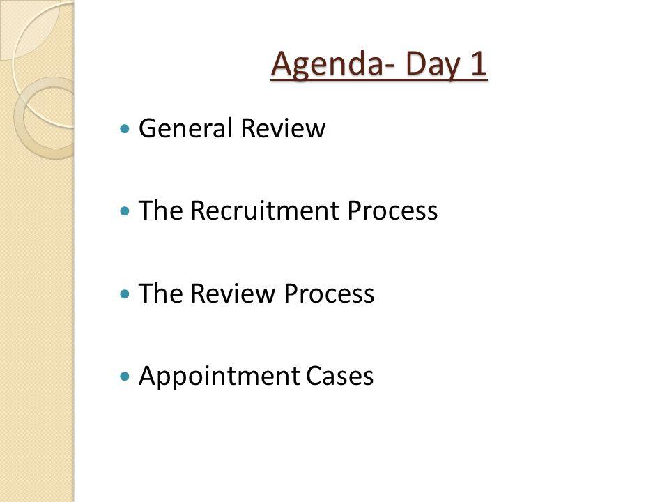 Advancement Case Review Process