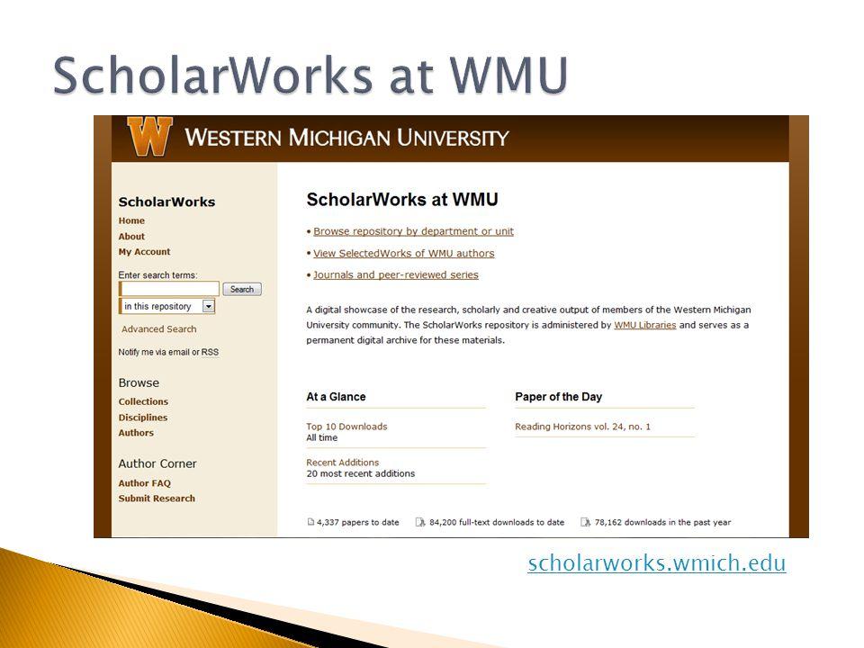 scholarworks.wmich.edu
