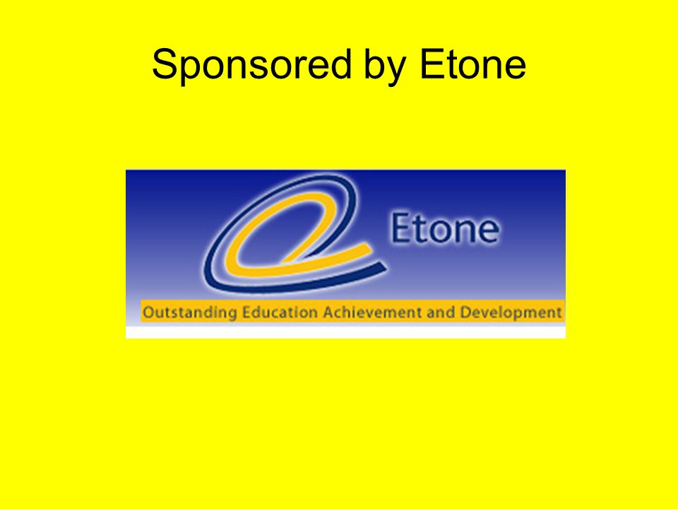 Sponsored by Etone