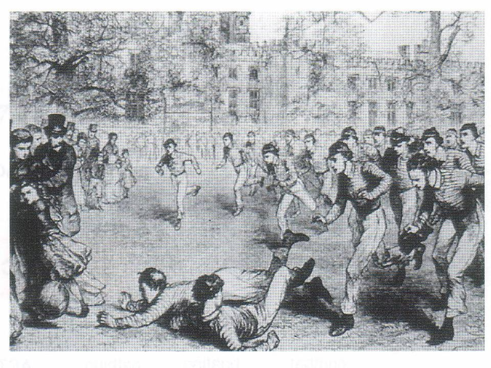 Effects of the Industrial Revolution Effects of the Industrial Revolution While football was developing in Public Schools mob football in Britain was dealt its biggest blow in the form of the Industrial Revolution.