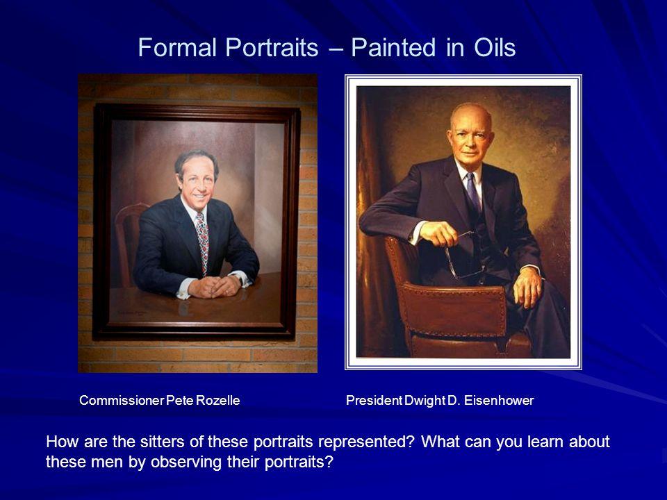 Commissioner Pete Rozelle President Dwight D.