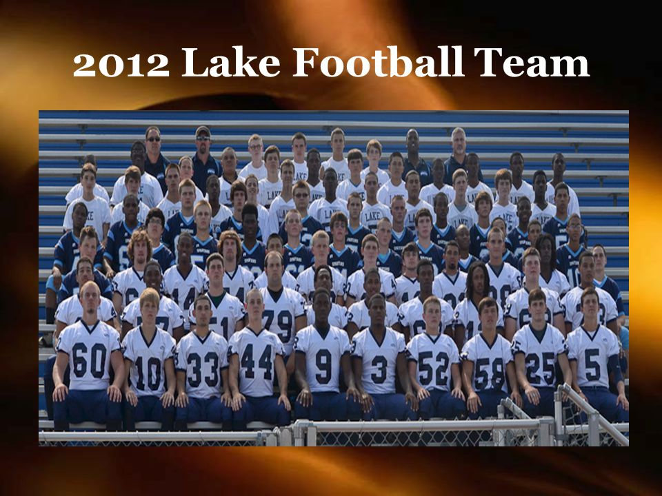 2012 Lake Football Team