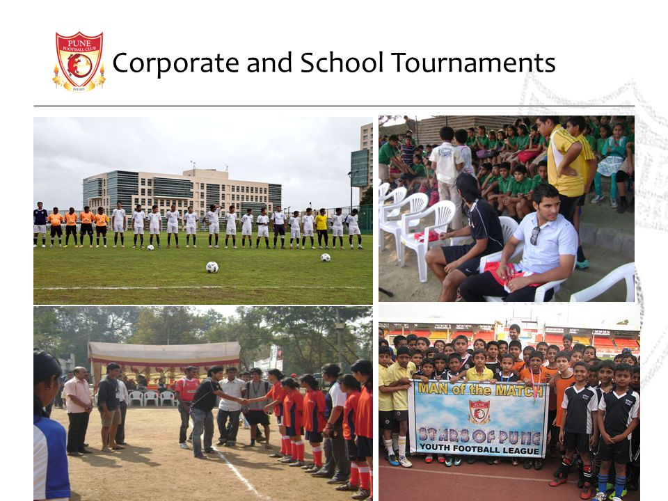 Corporate and School Tournaments