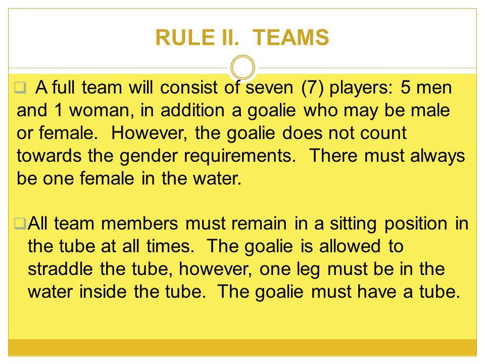 RULE II.