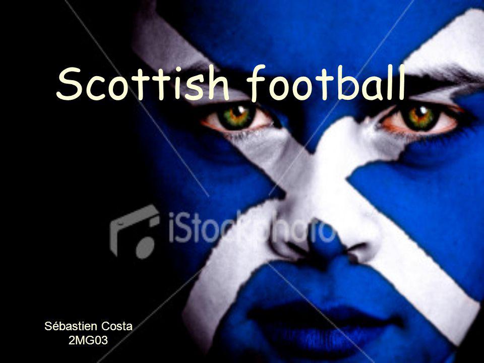 Scottish football Sébastien Costa 2MG03