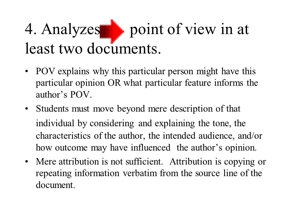 3. Supports thesis with appropriate evidence from all or all but one of the documents.