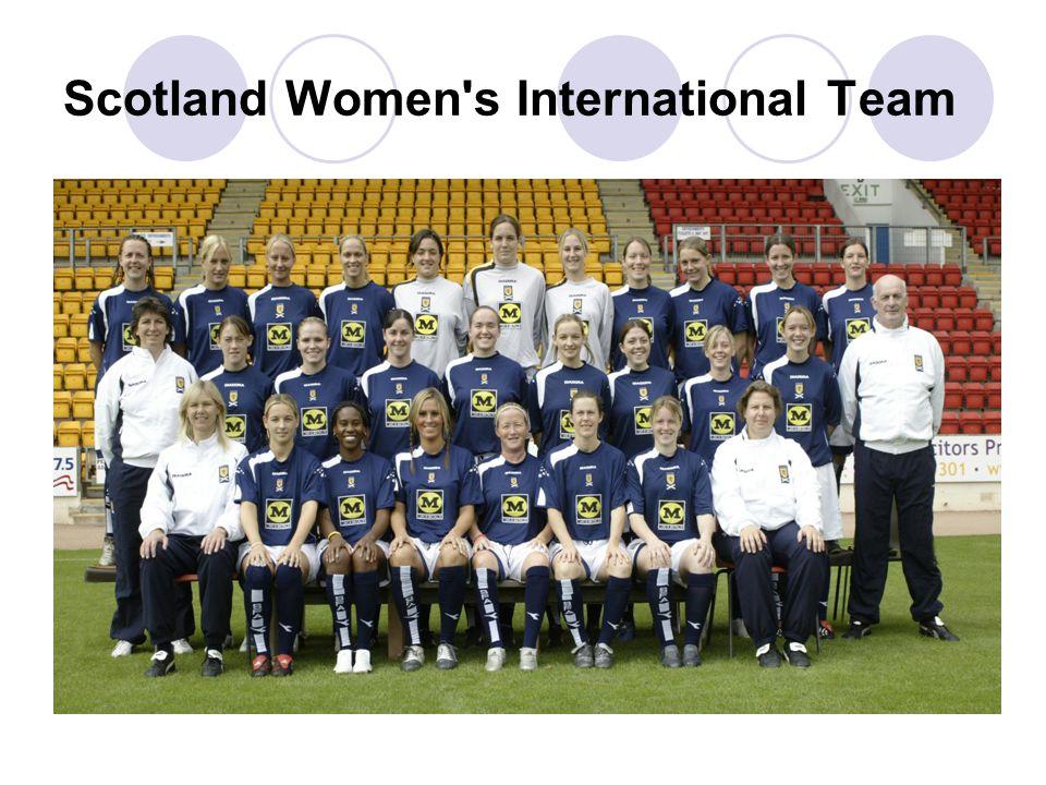 Scotland Women s International Team
