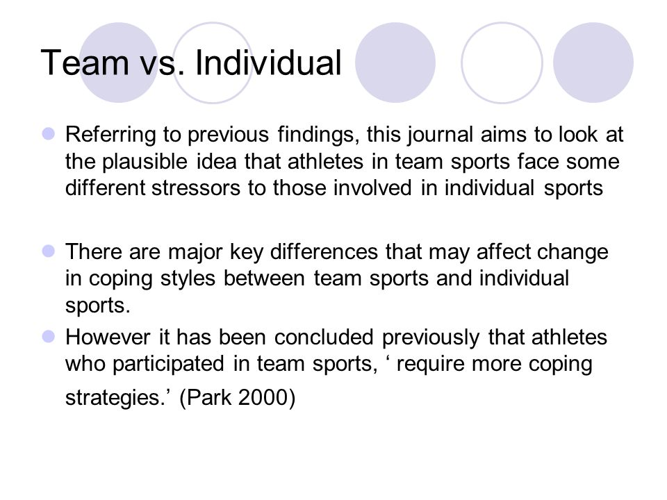 Other research implications Previous coping strategies were measured by relevant coping instruments This study coping strategies used may be specific to the demands of the sport in question.
