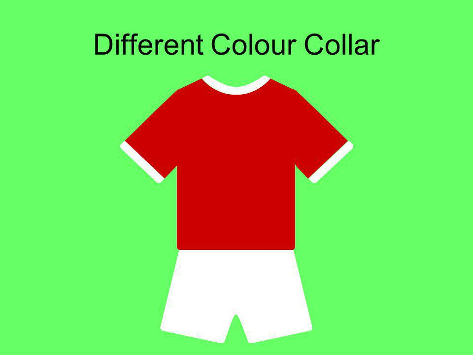 Different Colour Collar