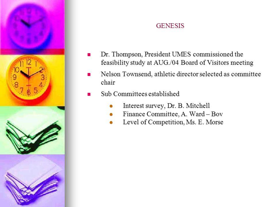 GENESIS Dr.