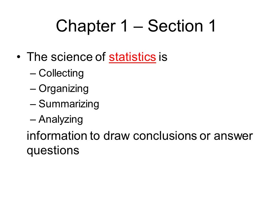 Chapter 2 – Section 2 Just as for discrete data, a histogram can be created from the frequency table Instead of individual data values, the categories are the classes – the intervals of data