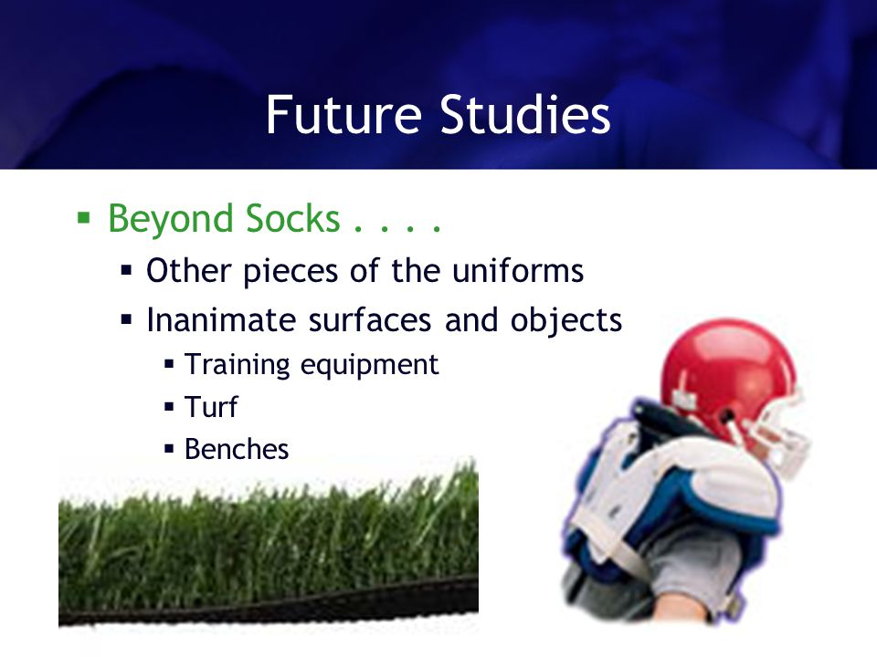 Future Studies Beyond Socks....