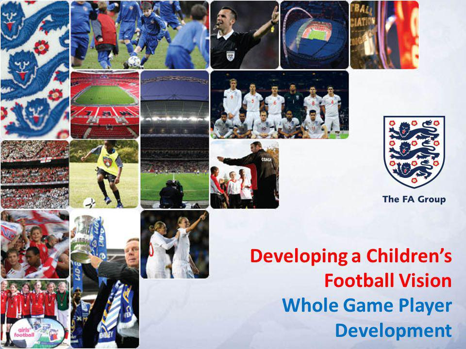 To devise a modern and child-based approach to youth football in England.