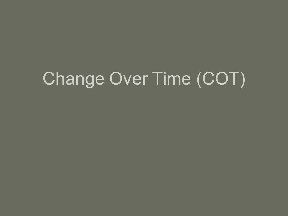 Change Over Time (COT)