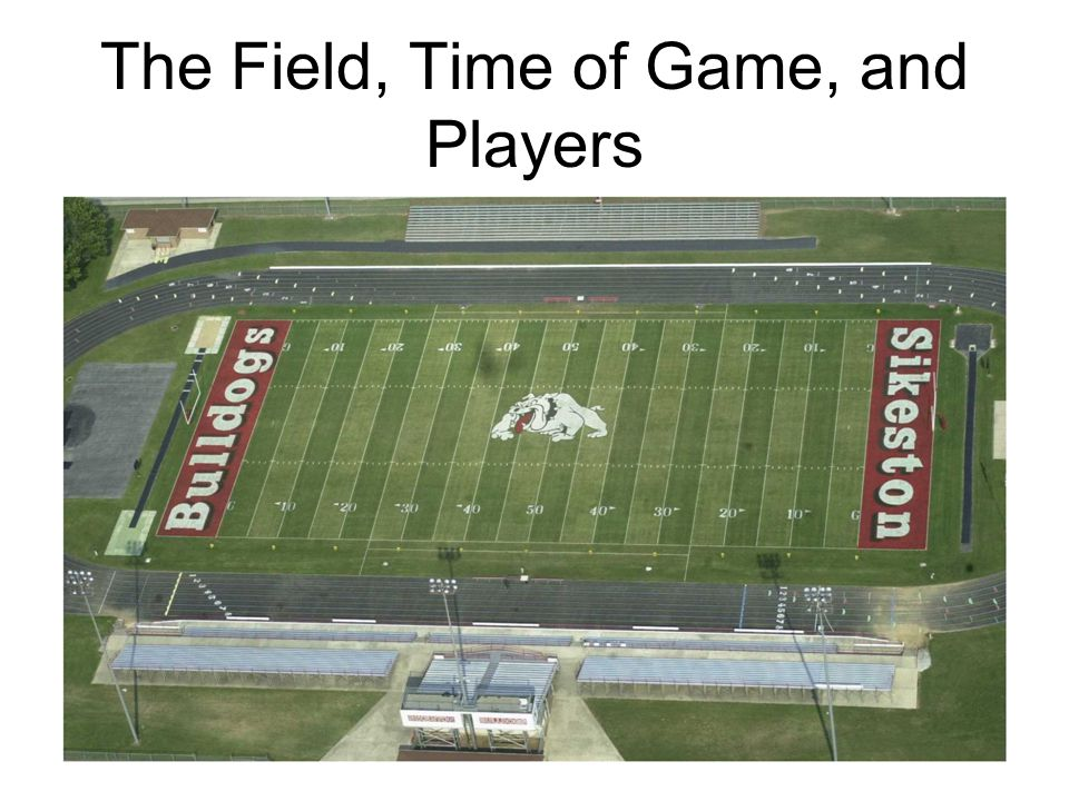 The Field, Time of Game, and Players