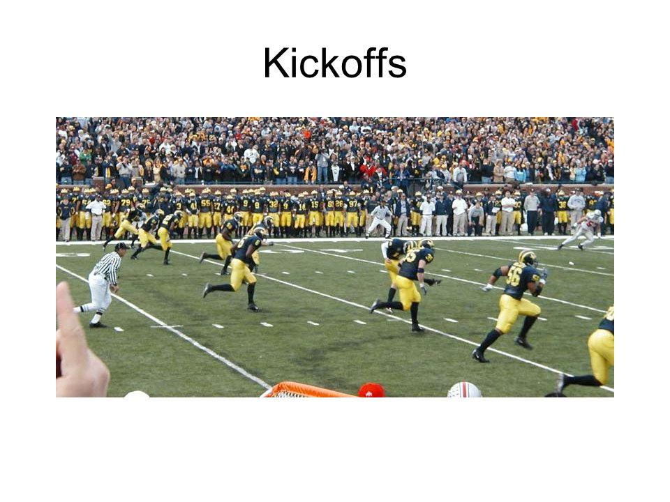 Kickoffs