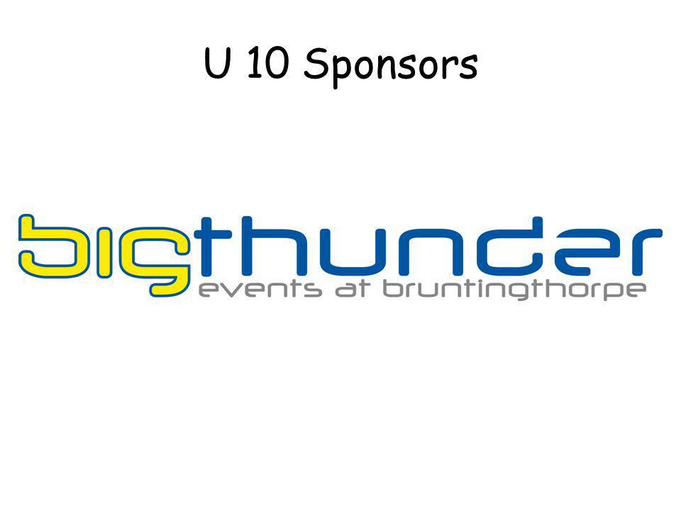 U 10 Sponsors