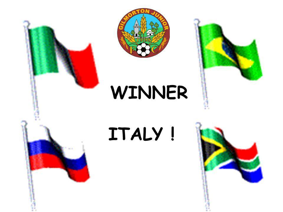 WINNER ITALY !