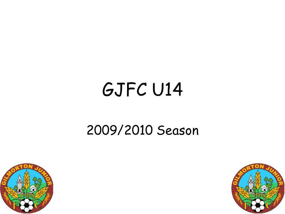 GJFC U14 2009/2010 Season