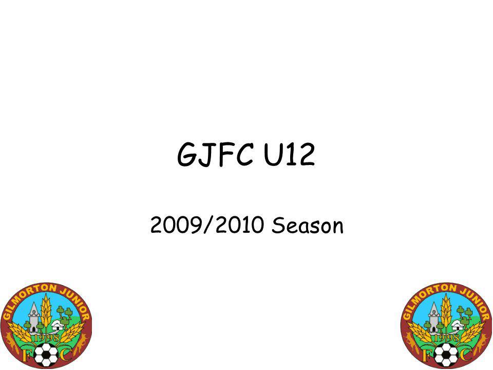 GJFC U12 2009/2010 Season