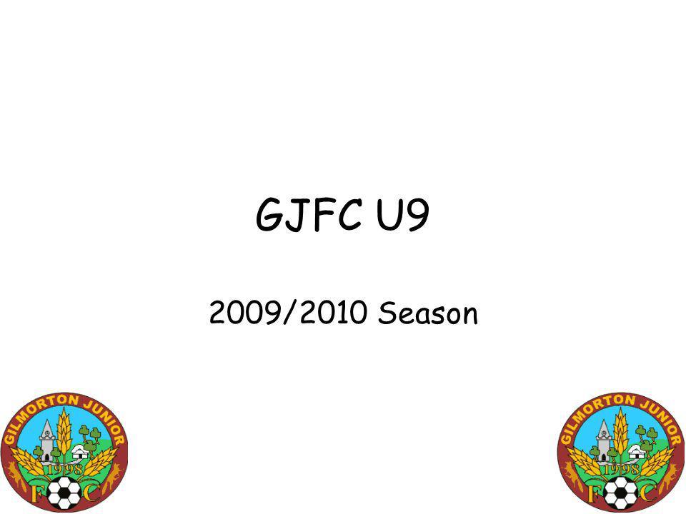 GJFC U9 2009/2010 Season