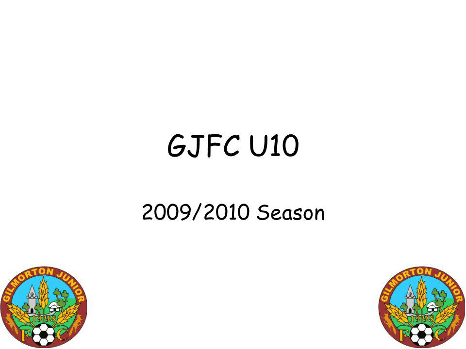 GJFC U10 2009/2010 Season