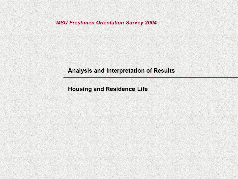 How satisfied are you with the housing application process.