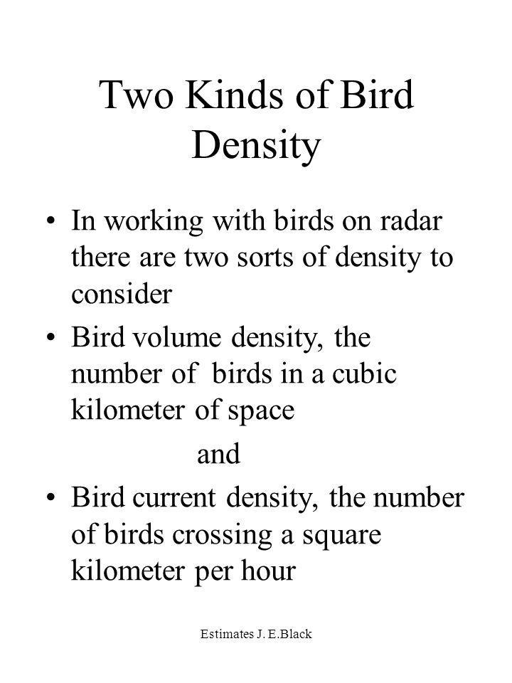 Estimates J.