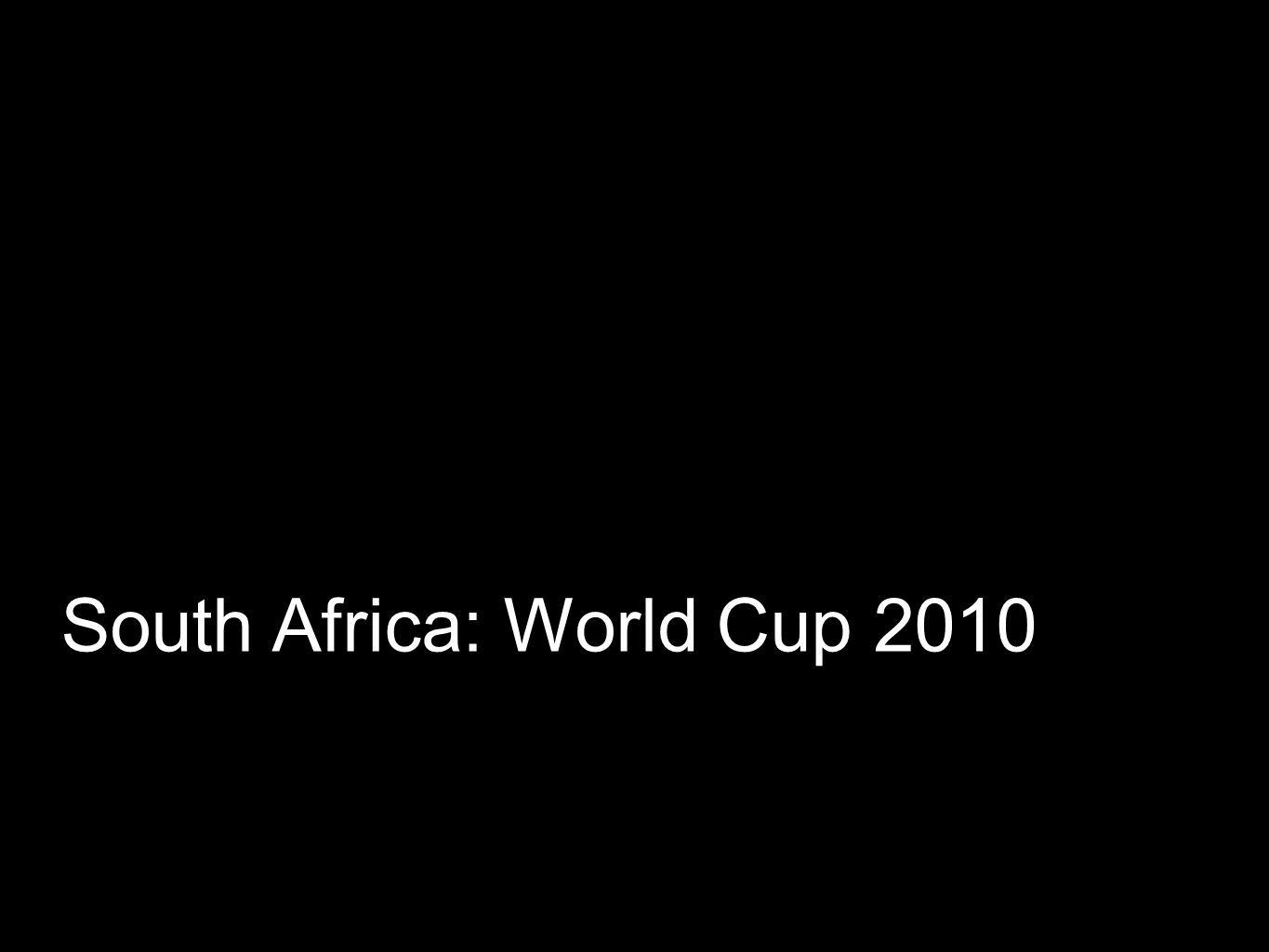 World Cup 2010: A page for every team, group and player.