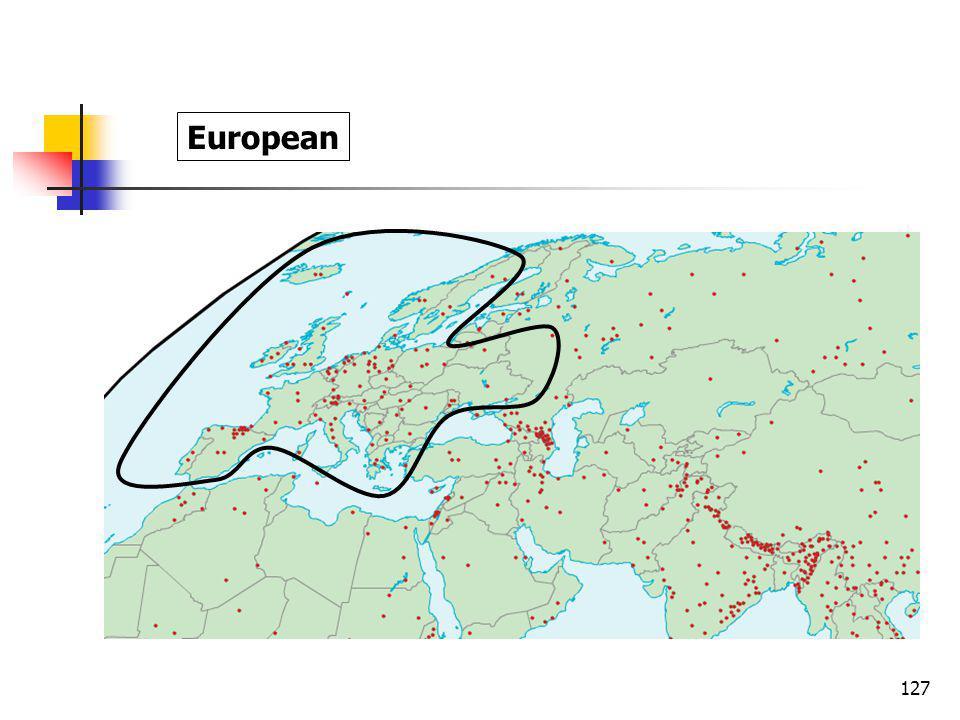 127 European
