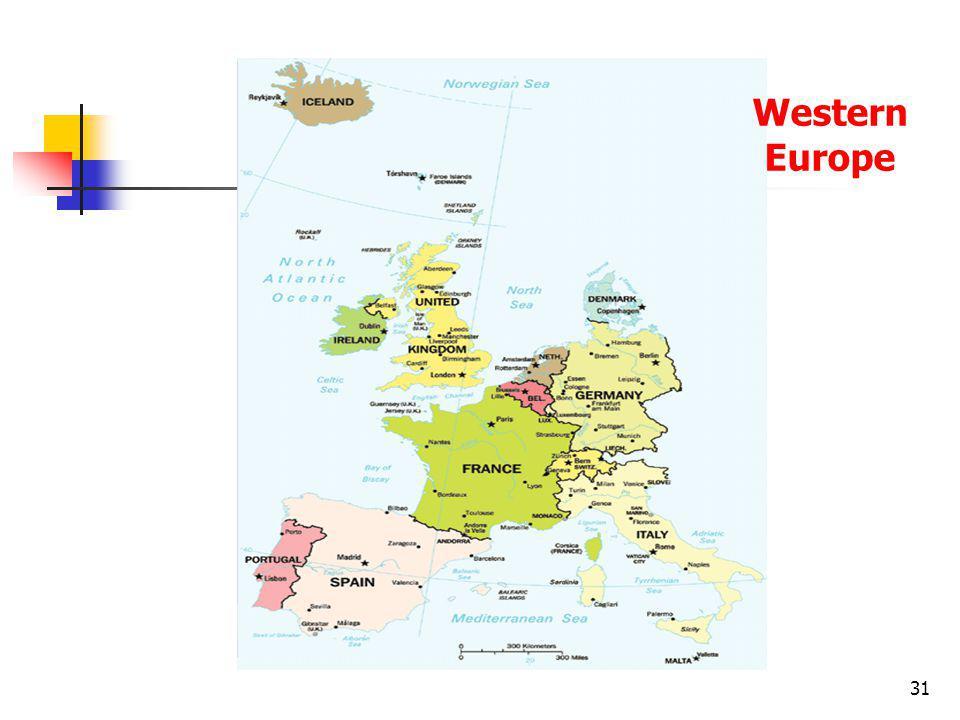 31 Western Europe