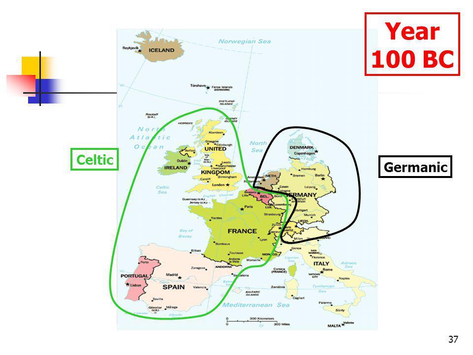 37 Celtic Germanic Year 100 BC