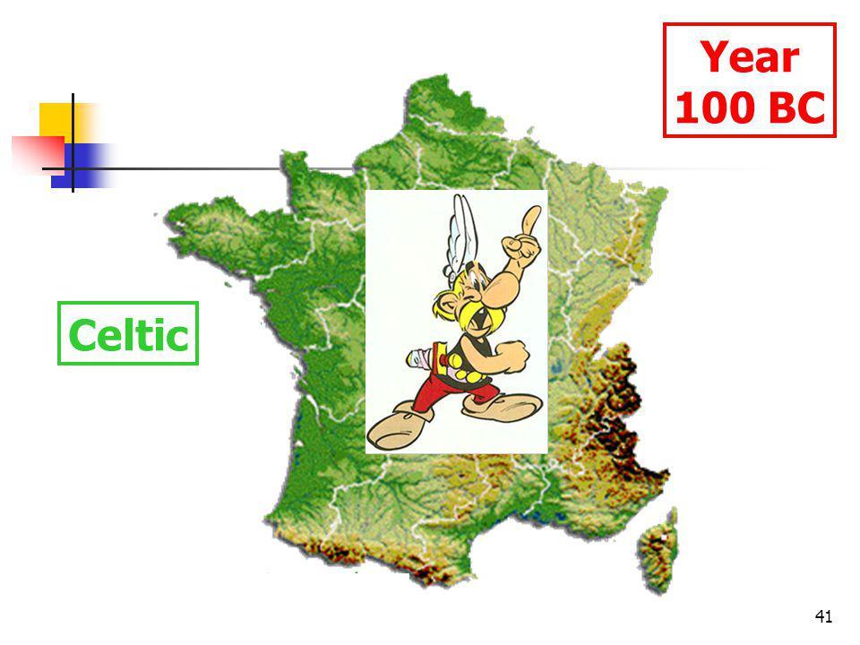 41 Year 100 BC Celtic