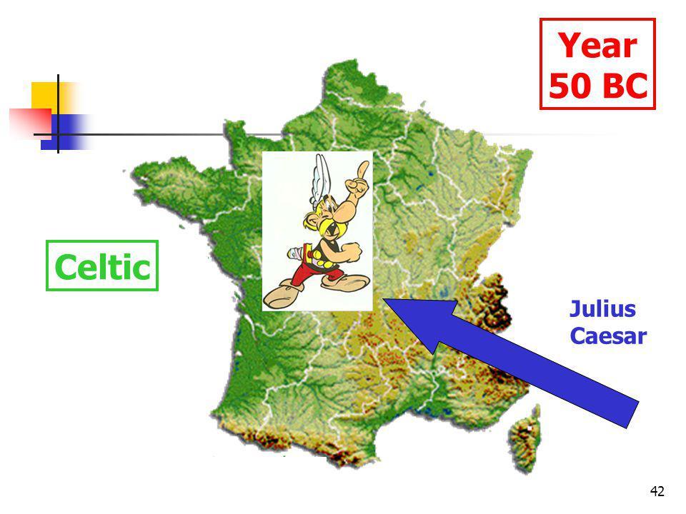 42 Year 50 BC Celtic Julius Caesar