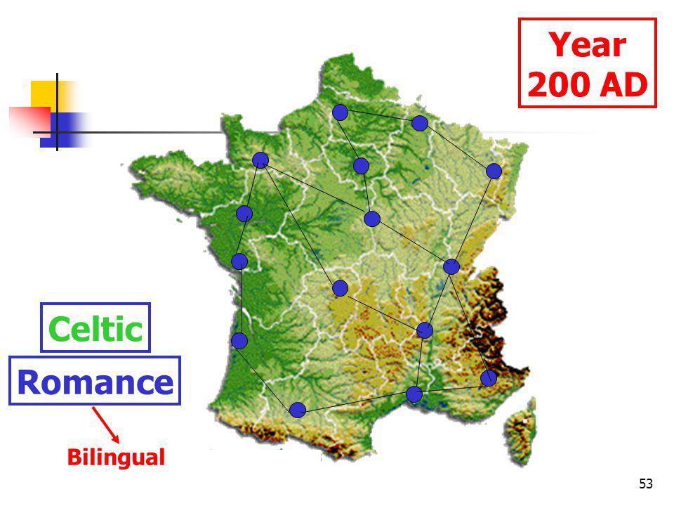 53 Year 200 AD Celtic Romance Bilingual