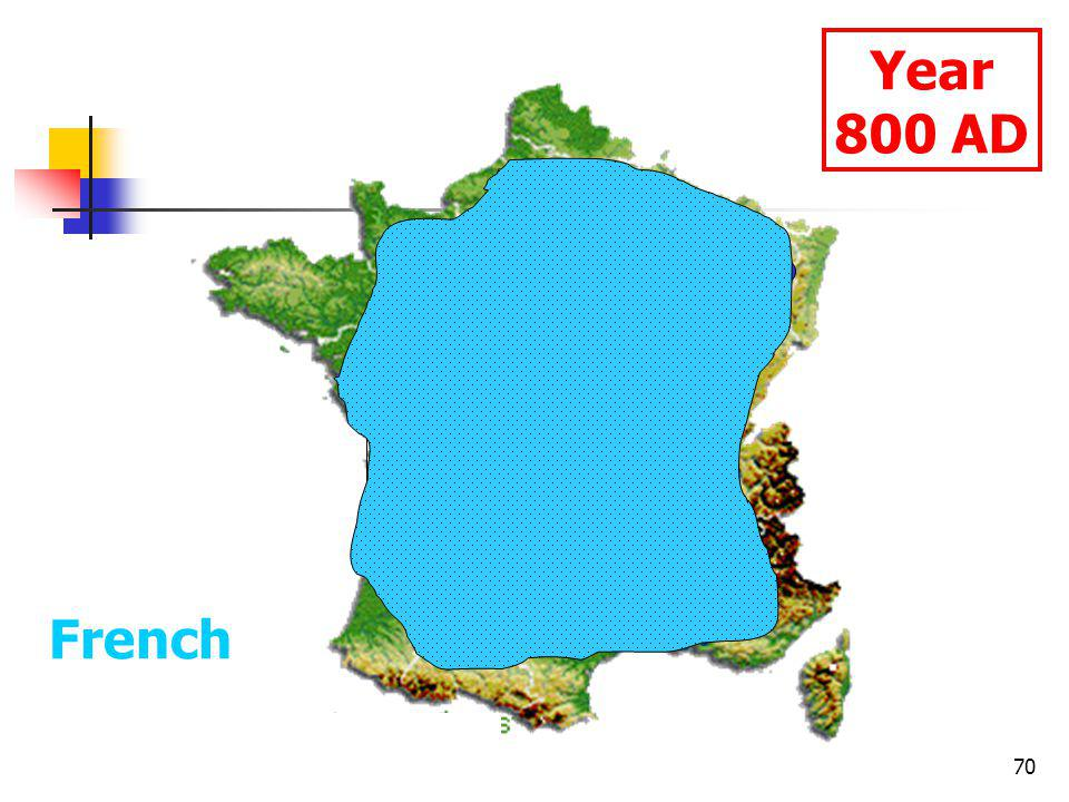 70 Year 800 AD French