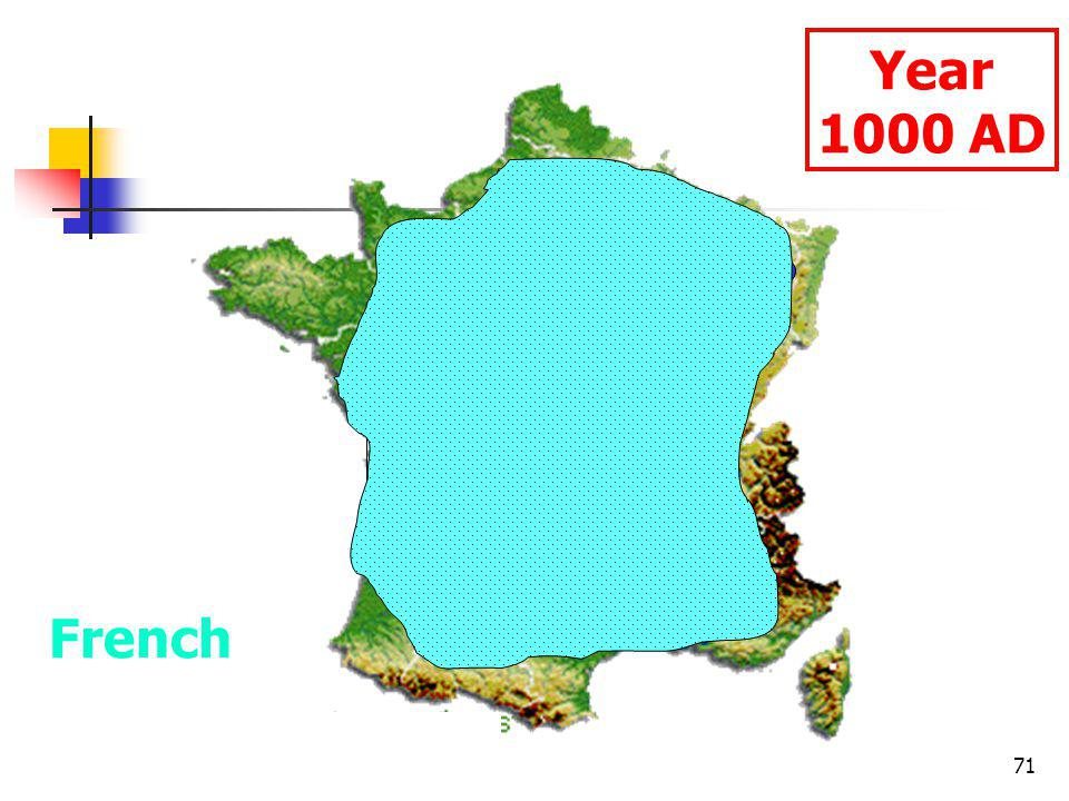 71 Year 1000 AD French